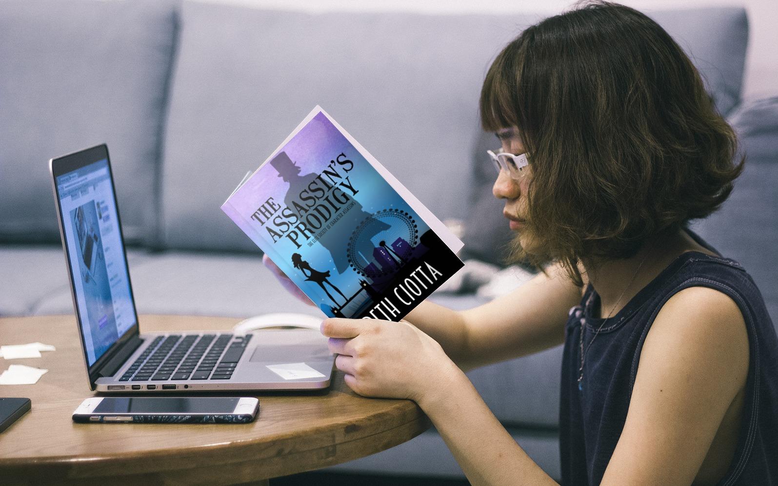 TAP girl print book