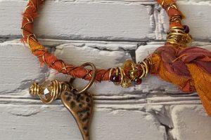 JANG--Orange Festival, Copper, gold--heart3